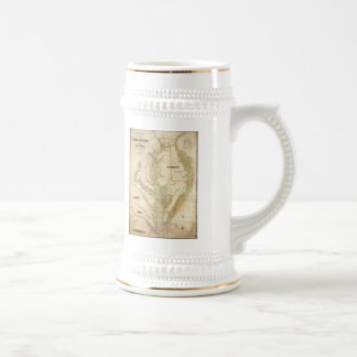 Vintage Map of The Chesapeake Bay (1840) Coffee Mugs