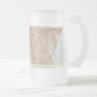 Vintage Map of The Chesapeake Bay (1861) Coffee Mugs