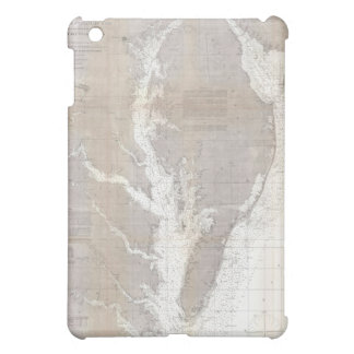 Vintage Map of the Chesapeake Bay (1866) Case For The iPad Mini