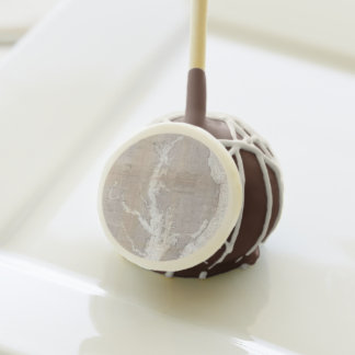 Vintage Map of the Chesapeake Bay (1866) Cake Pops