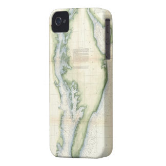 Vintage Map of The Chesapeake Bay iPhone 4 Case-Mate Case