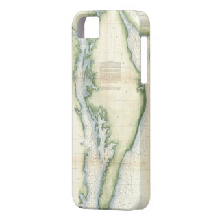 Vintage Map of The Chesapeake Bay iPhone SE/5/5s Case