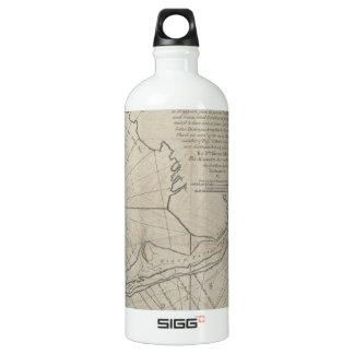 Vintage Map of The Florida Keys (1771) (2) Water Bottle