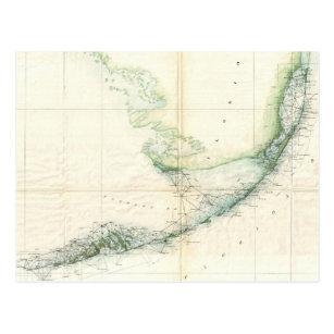 Florida Keys Map.Vintage Florida Keys Map Gifts On Zazzle