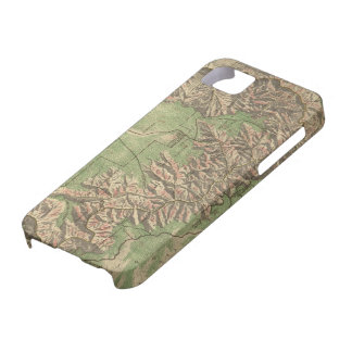 Vintage Map of The Grand Canyon (1926) iPhone SE/5/5s Case