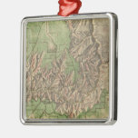 Vintage Map of The Grand Canyon (1926) Metal Ornament