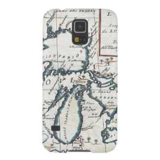Vintage Map of The Great Lakes (1696) Galaxy S5 Case