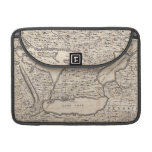 Vintage Map of The Great Lakes (1733) Sleeve For MacBook Pro