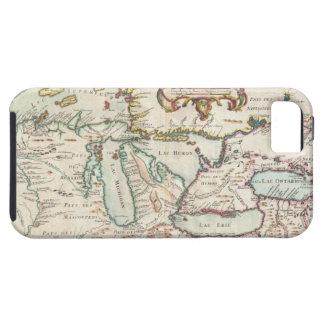Vintage Map of The Great Lakes (1755) iPhone SE/5/5s Case