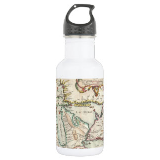 Vintage Map of The Great Lakes (1755) 18oz Water Bottle