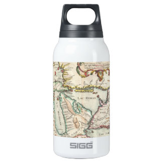 Vintage Map of The Great Lakes (1755) 10 Oz Insulated SIGG Thermos Water Bottle