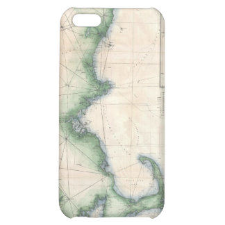 Vintage map of the Massachusetts Coastline Cover For iPhone 5C