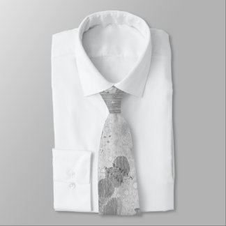 Vintage Map of The Moon (1647) Neck Tie