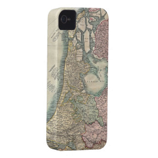 Vintage Map of The Netherlands (1799) iPhone 4 Case-Mate Case