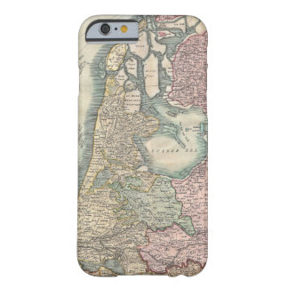 Vintage Map of The Netherlands (1799) iPhone 6 Case