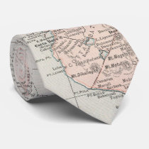 Vintage Map of The Philippine Islands (1901) Tie