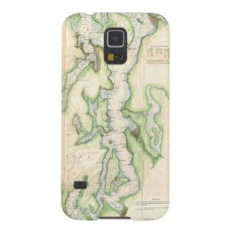 Vintage Map of The Puget Sound (1867) Case For Galaxy S5