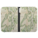 Vintage Map of The Puget Sound (1867) Cases For The Kindle