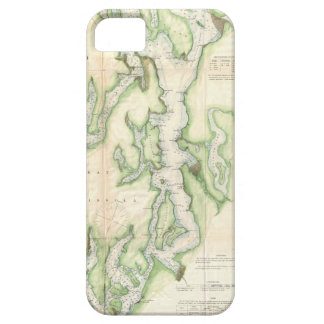 Vintage Map of The Puget Sound (1867) iPhone SE/5/5s Case