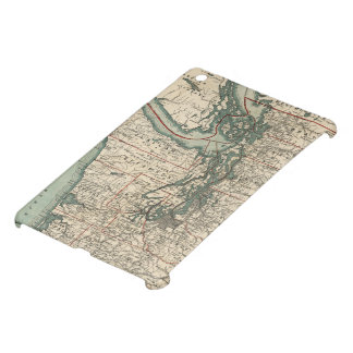 Vintage Map of The Puget Sound (1910) iPad Mini Case