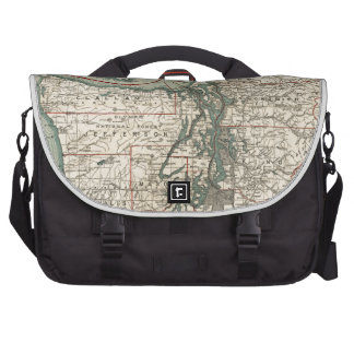 Vintage Map of The Puget Sound (1910) Commuter Bags