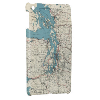 Vintage Map of The Puget Sound (1919) Cover For The iPad Mini