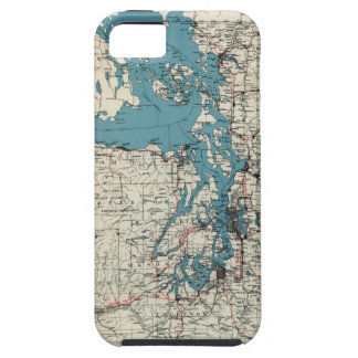 Vintage Map of The Puget Sound (1919) iPhone SE/5/5s Case