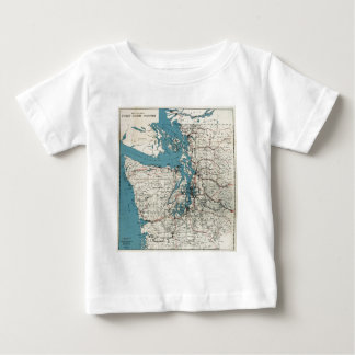 Vintage Map of The Puget Sound (1919) Shirt