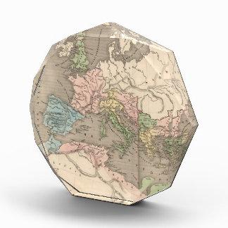 Vintage Map of The Roman Empire (1838) Award