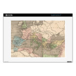 """Vintage Map of The Roman Empire (1838) 15"""" Laptop Decals"""