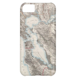 Vintage Map of The San Francisco Bay (1873) iPhone 5C Covers