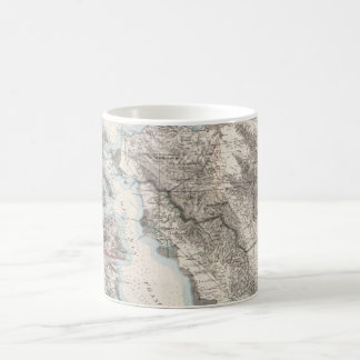 Vintage Map of The San Francisco Bay (1873) Coffee Mug