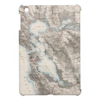 Vintage Map of The San Francisco Bay (1873) iPad Mini Cover