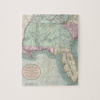 Vintage Map of The Southeastern U.S. (1806) Jigsaw Puzzle