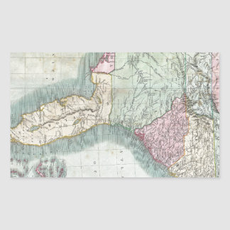 Georgia State Map Stickers Zazzle - Map of us 1806