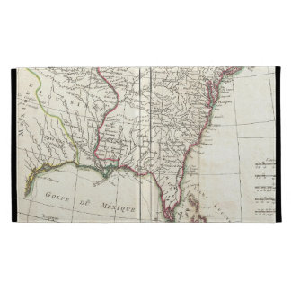 Vintage Map of The Thirteen Colonies (1776) iPad Folio Covers