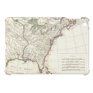 Vintage Map of The Thirteen Colonies (1776) Cover For The iPad Mini