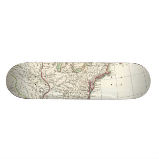 Vintage Map of The Thirteen Colonies (1776) Skateboard Deck