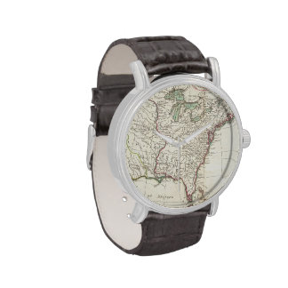 Vintage Map of The Thirteen Colonies (1776) Watch