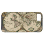 Vintage Map of The World (1689) iPhone 5 Cases