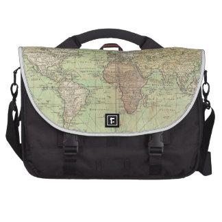 Vintage Map of The World (1778) Laptop Bag