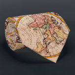 "Vintage Map of The World (1782) - Stylized Tie<br><div class=""desc"">This is a stylized vintage map of the world originally produced in 1782.</div>"