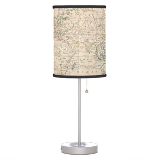 Vintage Map of The World (1799) Lamp