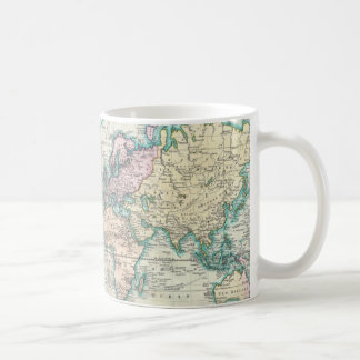 Vintage Map of The World (1801) Coffee Mugs