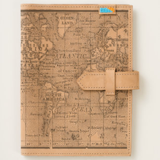Vintage world map journals zazzle vintage map of the world journal gumiabroncs Gallery