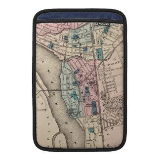 Vintage Map of Trenton NJ (1872) MacBook Sleeve