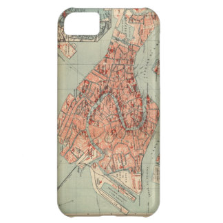 Vintage Map of Venice Italy (1920) iPhone 5C Case
