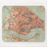 Vintage Map of Venice Italy (1920) Mouse Pad
