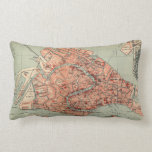 Vintage Map of Venice Italy (1920) Pillow
