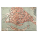 Vintage Map of Venice Italy (1920) Placemat